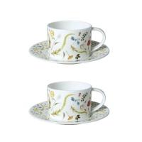 [TwigNY] 스칸디나비안 플로럴 2인 커피세트