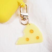 [에어팟 키링] 찍찍이의 치즈