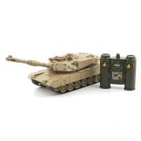 1/28 2.4GHz 에브람스 탱크 (YAK161164SA) 배틀탱크 무선모형 RC