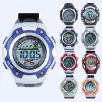 포포팬시 컬러풀 디지털 손목시계 Large