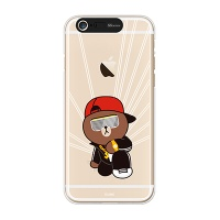 iPhone6/iPhone6+ LINE FRIENDS BROWN B-boy Light UP Case