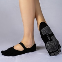 TOENTOE(토앤토) STRAP CLOSED TOE - BLACK