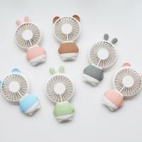 휴대용 미니 선풍기(곰과 토끼)