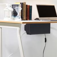 탭업 책상부착형 멀티탭 정리함 1+1