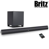 브리츠 블루투스4.0 사운드바 스피커 + 서브 우퍼 B7 AV Soundbar Cinema (RCA & COAXIAL & PCM Optical & AUX입력단자 / 벽걸이 설치)