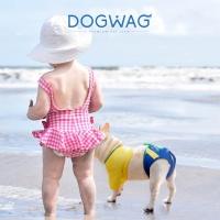 [도그웨그 DOGWAG] 강아지 수영복 강아지 비키니