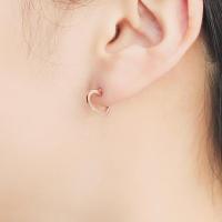[주문제작] 러브라인 하트 귀걸이 OTE119309NPP