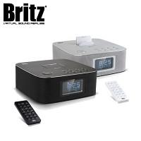 브리츠 블루투스 스피커 & 라디오 BZ-M4060 (시계 및 알람 기능 / 거치기능 / 외부입력 AUX 단자 / 충전기능)