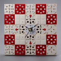 시계2 블럭시계 (170130) 블럭레고형시계,조립시계