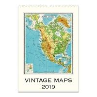 2019 캘린더 카발리니 Vintage Maps