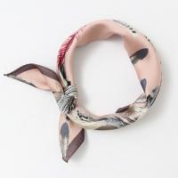 Feather Square Petit Scarf