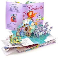 [신데렐라 팝업북] Cinderella : A Pop-Up Fairy Tale