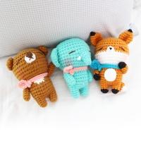 손뜨개인형 - 동글동물 DIY KIT V.2
