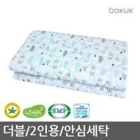 보국전자 드림캐쳐 안심세탁 워셔블 전기요(더블)