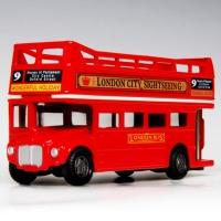 모터맥스 4.75인치 런던버스오픈탑미니카 (540M76008)