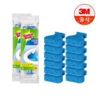 [3M]크린스틱 변기청소 리필 12입