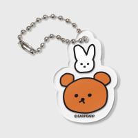 [11.08 예약발송]Bear and rabbit(키링)