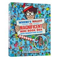 Where's Wally? The Magnificent Mini Book Box With Magnifying Glass