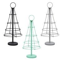 [Idesign]SILO Rack with 4 ring Black 4단 디스플레이 렉