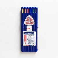 에고 소프트 점보색연필 6색/158-SB6 스테들러