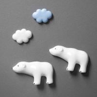 [무료배송]구름 곰 마그넷 세트 냉장고자석메모