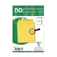 [클레르퐁텐]크라프트 접착용 봉투(50매)