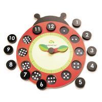 [무료배송]우리같이 무당벌레 시계와 숫자 세기