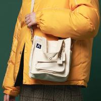 [어나더프레임X로아드로아] MINI A LABEL CROSS BAG (IVORY) 미니백 크로스백 숄더백 가방