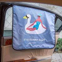 [무료배송]썸머 자동차 햇빛가리개 자석형