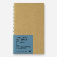 SPIRAL RING NOTEBOOK (A5 Slim) Watercolor Paper