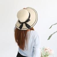 SW-7 마린 리본왕골햇 / 왕골모자 / 라탄 모자