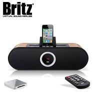 [브리츠] 애플용 블루투스 도킹 스피커 BE-MP1000BT (충전 / 리모컨 / 외부입력 AUX 단자 / ipod 아이팟 and iphone 아이폰 and ipad )