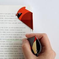 마그네틱 북마크볼펜 SAVE OUR BIRDS