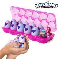 해치멀 컬렉터블 핑크 에그팩 12팩 set /미니피규어알