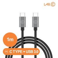 랩씨 C to C 케이블 3.0 USB 고속충전 C타입 1m
