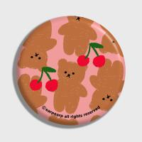 Dot cherry big bear-pink(거울)