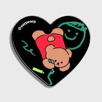 Doodle bear-black(하트톡)