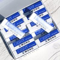 톰보 특대형 연필지우개 MONO LIGHT 1팩(20개입)