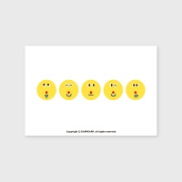 [어프어프] 엽서 Six face