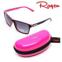 Rayen 레이앙 투톤 썬글라스 RE-0066 핑크하드케이스 포함