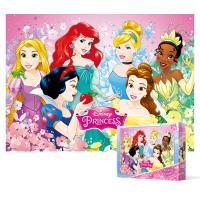100피스 직소퍼즐 - 디즈니 프린세스 계절 (큰조각)