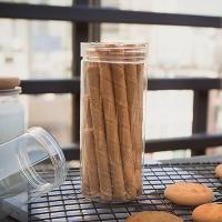 다용도용기 원형 6.5x14.5cm (마카롱-쿠키-막대과자)