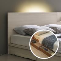 서랍평상형 DM111 침대 Q 무드조명