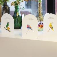 아이씨엘 드로잉 카드- Bird Ver.1