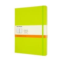 클래식노트-룰드/레몬 그린-하드 XL