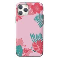 나인어클락 하와이안 플라워 카드슬롯 케이스 - 핑크