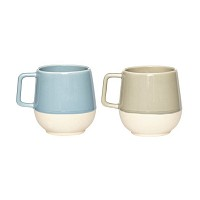 [Hubsch]Cup ceramics blue grey sand 컵