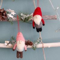 울 산타 인형 - 2color
