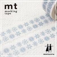 폭20mm-북유럽 감성 일러스트 Bengt&Lotta 작품-일본 mt 디자인 마스킹테이프-눈꽃 h305-Belo05