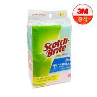 [3M]베이직 망사 스펀지 수세미 8입